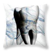 Anatomy Art Throw Pillow