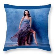 1576 Celebrity Catherine Zeta Jones  Throw Pillow
