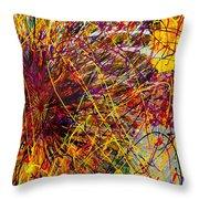 16-10 String Burst Throw Pillow