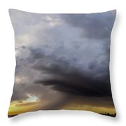 2nd Storm Chase 2015 Throw Pillow