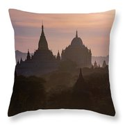 Bagan - Myanmar Throw Pillow