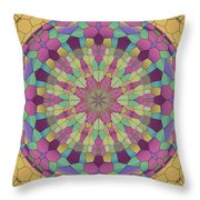 Mandala Ornament Throw Pillow