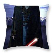 Movie Star Wars Art Throw Pillow