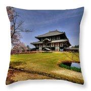 Nara Japan Throw Pillow