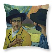 I Saw Her - Pretty - In A Porcelain Sort Of Way Throw Pillow