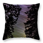 Salt Creek Falls Throw Pillow