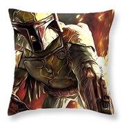 Star Wars Episode 3 Art Throw Pillow