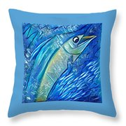 Swordfish Throw Pillow