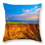 Nature Landscape Wall Art Throw Pillow