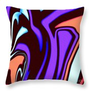 1631 Abstract Thought Throw Pillow