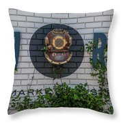 167 Raw Throw Pillow