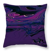 1673 Abstract Thought Throw Pillow