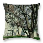 168 Marshfield Farm Throw Pillow