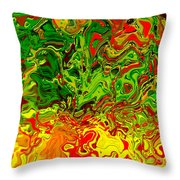 1683 Abstract Thought Throw Pillow