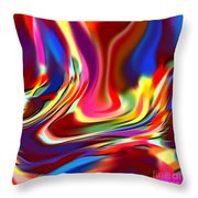 1697 Abstract Thought Throw Pillow