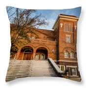 16th Street Baptist Church Steps In Birmingham Alabama Throw Pillow