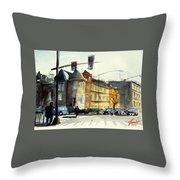 16th Street Nw Dc Throw Pillow