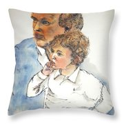 2016 Presidential Campaign Album  Throw Pillow