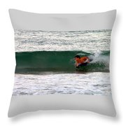 Australia - The Surfer Throw Pillow