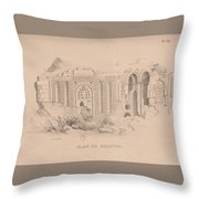 Capital Of Armenia Throw Pillow
