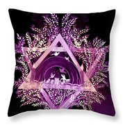 David Star Throw Pillow