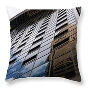 Denver Building Study Throw Pillow