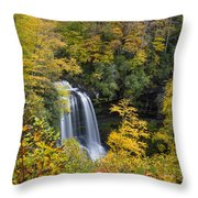 Dry Falls - Highlands, Nc Throw Pillow