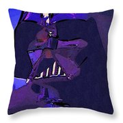 Galaxies Star Wars Art Throw Pillow