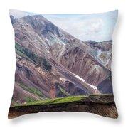 Landmannalaugar - Iceland Throw Pillow