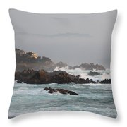 17 Mile Drive - Monterey Throw Pillow