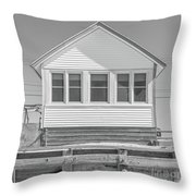 17 - Petunia -  Flower Cottages Series Throw Pillow