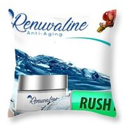 Renuvaline  Throw Pillow
