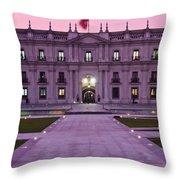 Santiago De Chile Throw Pillow