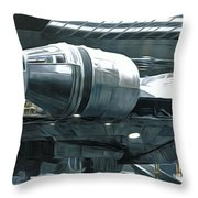 Star Wars A Poster Throw Pillow