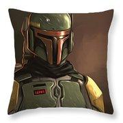 Star Wars Episode 3 Poster Throw Pillow
