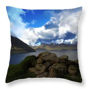 The Faroe Islands  Throw Pillow