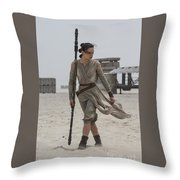 The Force Awakens Throw Pillow