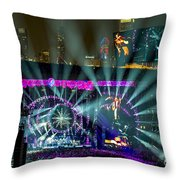 The Grateful Dead At Soldier Field Fare Thee Well Throw Pillow