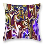 1717 Abstract Thought Throw Pillow