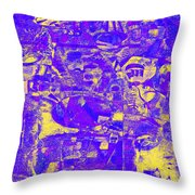 1743 Abstract Thought Throw Pillow