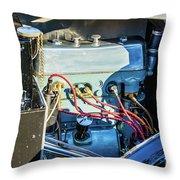 1743.034 1930 Mg Engine Throw Pillow