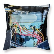 1743.036 1930 Mg Engine Plate Throw Pillow