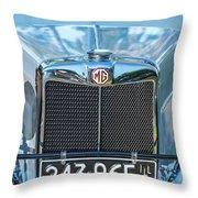 1743.040 1930 Mg Classic Car Throw Pillow