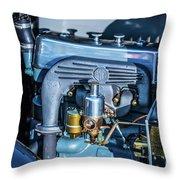 1743.046 1930 Mg Engin Plate Throw Pillow