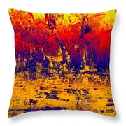 1745 Abstract Thought Throw Pillow