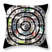 1766 Abstract Thought Throw Pillow