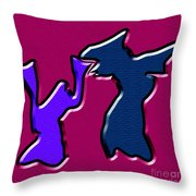 1771 Abstract Thought Throw Pillow
