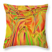 1788 Abstract Thought Throw Pillow