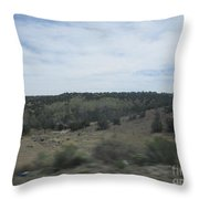 Concho Landscape Throw Pillow