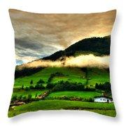 Cool Landscape Throw Pillow